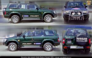Pierwotny wygląd pojazdu przed realizacją reklmy.