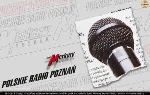 Szablony i elementy wektorowe przygotowane do malowania reklamy dla Radia Poznań.