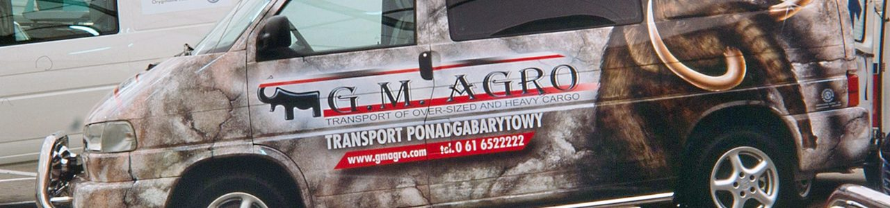 reklama airbrush dla firmy GM Agro Mamuty
