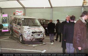Wystawa Pojazdów Specjalizowanych – Volkswagen Poznań 2001
