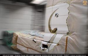 Malowanie reklamy na ciągniku siodłowym MAN TGA 18.410.
