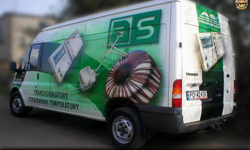 Airbrush & Design - Karpiński, Poznań 2003, projekt i wykonanie w technice airbrush, klient - firma AS, z archiwum  www.airbrush.com.pl  ©