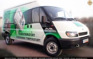 Reklama sterowników i transformatorów dla firmy AS.