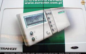 Reklama samochodowa sterownika Euroster 2005 firmy AS.