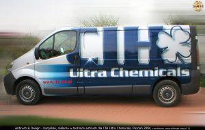 2004 reklama airbrush dla CIH Ultra Chemicals
