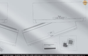 Grafika wektorowa i szablony do reklamy na samochodzie Skoda w technice airbrush dla firmy Lars.