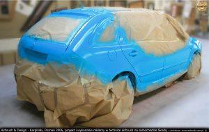 projekty i prace graficzne na samochodach firmy Lars