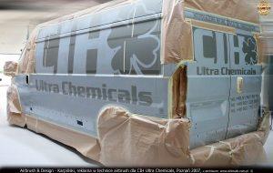 2007 reklama airbrush dla CIH Ultra Chemicals