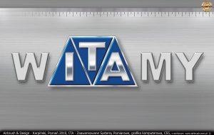 ITA Polska - Zaawansowane Systemy Pomiarowe, grafika komputerowa, napis do siedziby firmy