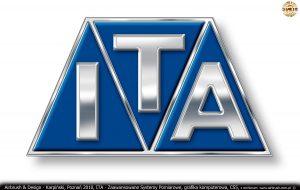 ITA Polska - Zaawansowane Systemy Pomiarowe, grafika komputerowa, logo