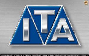 ITA Polska - Zaawansowane Systemy Pomiarowe, grafika ctfrowa, logo