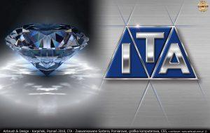 ITA Polska - Zaawansowane Systemy Pomiarowe, grafika komputerowa, inspiracja do logo
