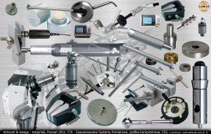 ITA Polska - Zaawansowane Systemy Pomiarowe, elementy do utworzenia dłoni robota