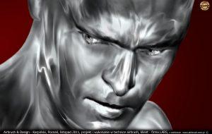 Iron Man portret dla Lars Auraton