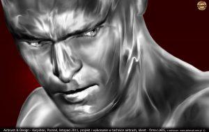 Iron Man głowa dla Lars Auraton