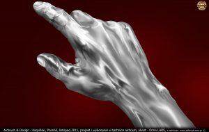 Iron Man stalowa dłoń dla Lars Auraton