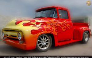 airbrush, Ford PickUp, Karpiński