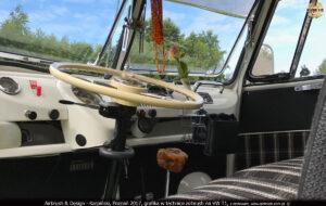 2017-04-11 VW-T1 Paradise Adventures grafika na samochodzie w technice airbrush.