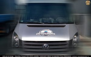 2013-2019, projekty i wykonanie reklamy samochodowej dla Mikrowag
