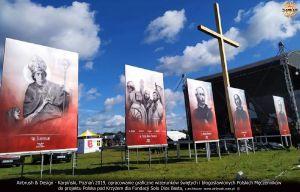 Wielkoformatowe wizerunki polskich męczenników na akcję Polska pod Krzyżem `2019