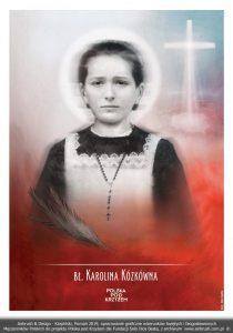 błogosławiona Karolina Kózkówna - polski męczennik