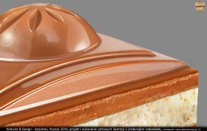 grafika cyfrowa - przekroje czekoladek