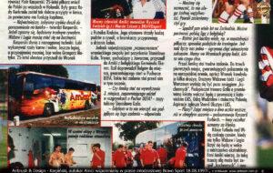 Bravo Sport 18.08.1997r. nowy autokar Amica opisany w gazecie młodziezowej.