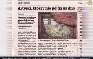 Karpiński, koncert Suplementony i antyobrazy, lata 80. Głos Wielkopolski