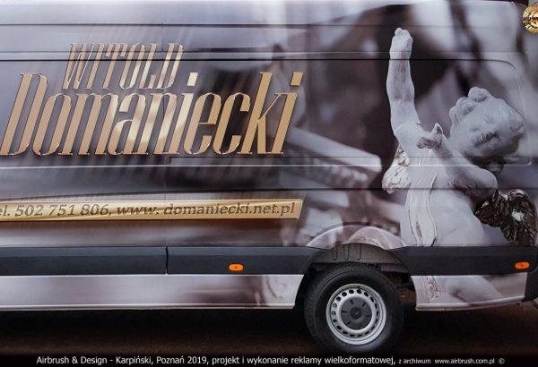 Airbrush & Design - Karpiński, Poznań 2019, projekt i wykonani