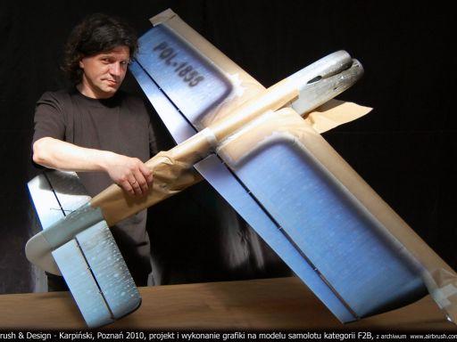Ważka model samolotu F2B