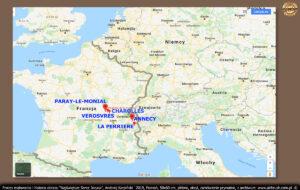 Św. Małgorzata Maria Alacoque urodziła się 22.07.1647 w Burgundii, w małej wiosce Hautecour (wym: Otekur) tuż przy wiosce Verosvres (wym: Wieruwr).