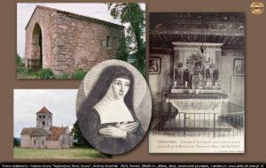 Kościół oraz kaplica, w której Małgorzata modliła się już jako nastolatka, znajdował się po drugiej stronie drogi, w Verosvres (wym: Wieruwr).