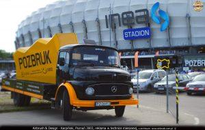 Pozbruk Mercedes retro kostka