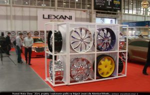 Poznań Motor Show 2014 Lexani Asanti custom
