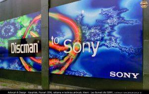 Karpiński, plansze airbrush dla Sony Poland i Leo Burnett
