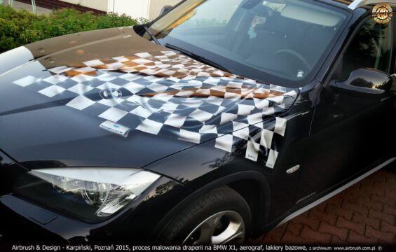 BMW X1 – PROJEKT I WYKONANIE GRAFIKI W TECHNICE AIRBRUSH