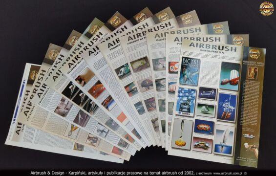 2002-2021 PUBLIKACJE O WYKONANYCH PRACACH AEROGRAFEM