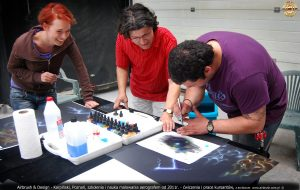 szkolenia airbrush, nauka malowania aerografem