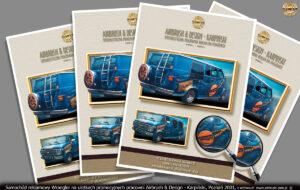 Chevrolet Wrangler na ulotkach promocyjnych pracowni `2001.