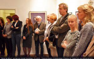 Obrazy bez faktury, wernisaż, 13.10.2015r. Muzeum J.I.Kraszewskiego w Poznaniu