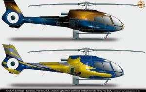 Karpiński, projekt i grafika dla Pozbruk, Eurocopter E130