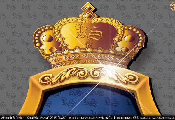 Logo i materiały reklamowe dla firmy z branży odzieżowej.