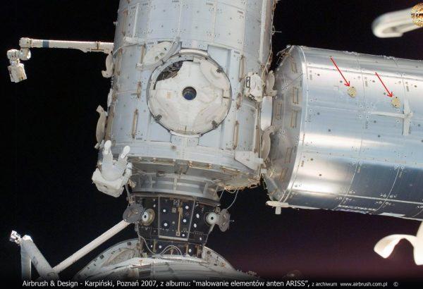 Anteny ARISS dla NASA