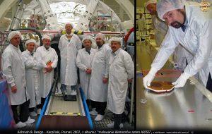 Karpiński, malowanie anten ARISS dla NASA, dr Paweł Kabacik