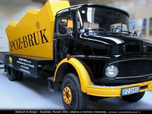 Poz-Bruk Mercedes retro