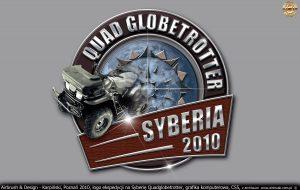 Logo i materiały reklamowe ekspedycji Quadglobetrotter
