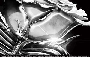Steel Roses digital art ilustration